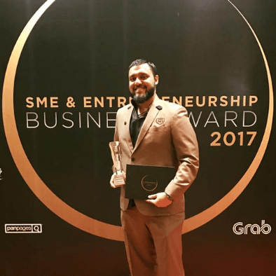 Teacher Raj awarded social entrepreneur of the year